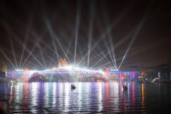 Отверстие круга фестиваля света Стоковая Фотография RF