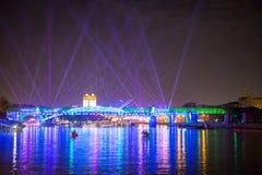 Отверстие круга фестиваля света Стоковые Фото