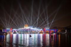 Отверстие круга фестиваля света Стоковое Изображение