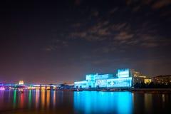 Отверстие круга фестиваля света 2015 Стоковое Изображение