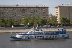 Отверстие навигации season-2018 в парке Gorky, Москве Стоковые Фото