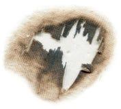 Отверстие ожога Стоковая Фотография RF