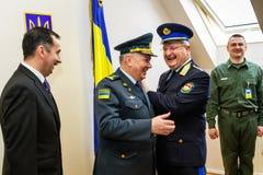 Отверстие первой совместной точки соприкосновения на Украинец-Hu Стоковые Изображения