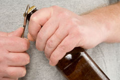 отверстие пива Стоковые Фото