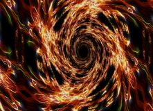 Отверстие пожара Стоковые Фото