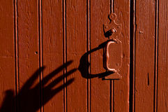 Отверстие тени Стоковые Фото