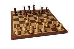 Отверстие шахмат Венгерская оборона стоковые фото