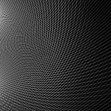 Отверстие щетки динамических изогнутых линий абстрактная геометрическая картина Стоковое фото RF