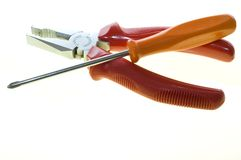 отвертка струбцины Стоковая Фотография RF