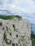 Отвесные скалы плато AI-Petri, Крыма Стоковое Фото