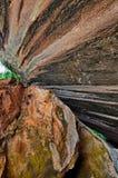 Отвесные скалы стоковое изображение
