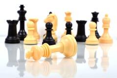 Ответная часть шахмат короля Стоковое Фото