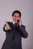 Ответственный бизнесмен Стоковые Изображения RF