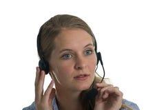 отвечая звонок ваш Стоковое Изображение RF