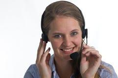 отвечая звонок ваш Стоковая Фотография RF
