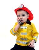 отвечая звонок 911 Стоковые Фотографии RF