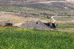 Отдаленная область Израил-АПРЕЛЯ 03,2017: ВОЕННЫЕ УЧЕНИЯ сил обороны Израиля Стоковое Изображение