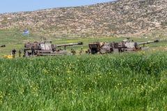 Отдаленная область Израил-АПРЕЛЯ 03,2017: ВОЕННЫЕ УЧЕНИЯ сил обороны Израиля Стоковые Изображения