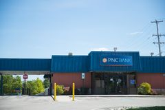 Отделение банка PNC стоковое изображение rf