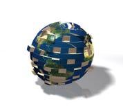 отделенный падая мир Стоковое Фото