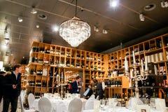 Отдел дегустации вин стоковое изображение