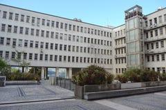 Отдел физики, университета Coimbra стоковая фотография