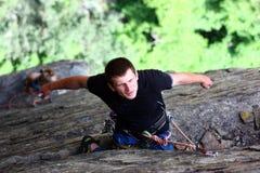 отдыхать альпиниста Стоковые Изображения RF