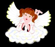 отдыхать ангела Стоковое Изображение