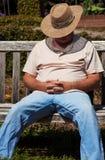 отдыхать человека Стоковые Фото