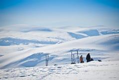 отдыхать 2 гор Стоковые Изображения