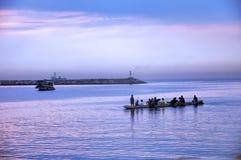 отдыхая rowers Стоковое Фото