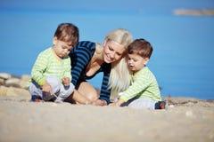 отдых семьи стоковое изображение
