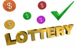 лотерея иллюстрация штока