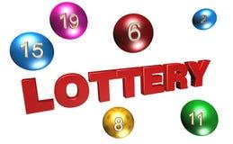 лотерея иллюстрация вектора