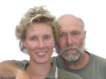 отец дочи Стоковая Фотография