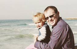 Отец и дочь Стоковое фото RF