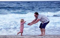 Отец и дочь стоковое фото