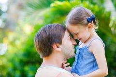 Отец и дочь Стоковая Фотография