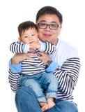 Отец и сынок стоковые фото