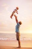 Отец и сынок стоковые изображения rf