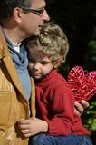 Отец и сынок Стоковое Фото