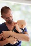 Отец и сын Стоковые Фото
