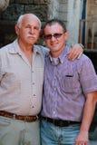 Отец и сын стоковые изображения