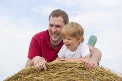 Отец и сын Стоковое Фото