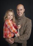 Отец и дочь Стоковые Изображения RF