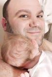 отец младенца Стоковое фото RF