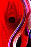 Отец павлина с предпосылкой абстрактного вектора пестротканой затеняемой с текстурой также вектор иллюстрации притяжки corel бесплатная иллюстрация