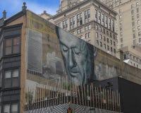 ` Отец современного ` Филадельфии Gaia, Филадельфией, Пенсильванией стоковое изображение