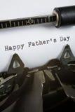 отец счастливый s дня Стоковые Фотографии RF
