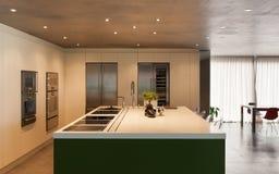отечественная кухня самомоднейшая Стоковая Фотография RF